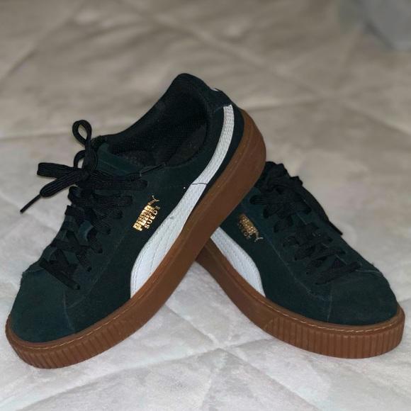 Puma Shoes | Rihanna Fenty Suede Black